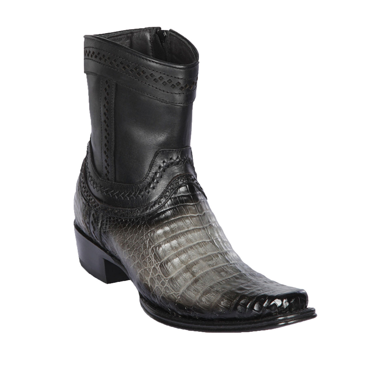 Caiman Belly Skin Short Boot LAB-76B82