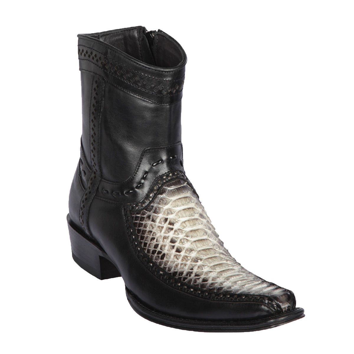 Python & Deer Skin Short Boot LAB- 76BF57