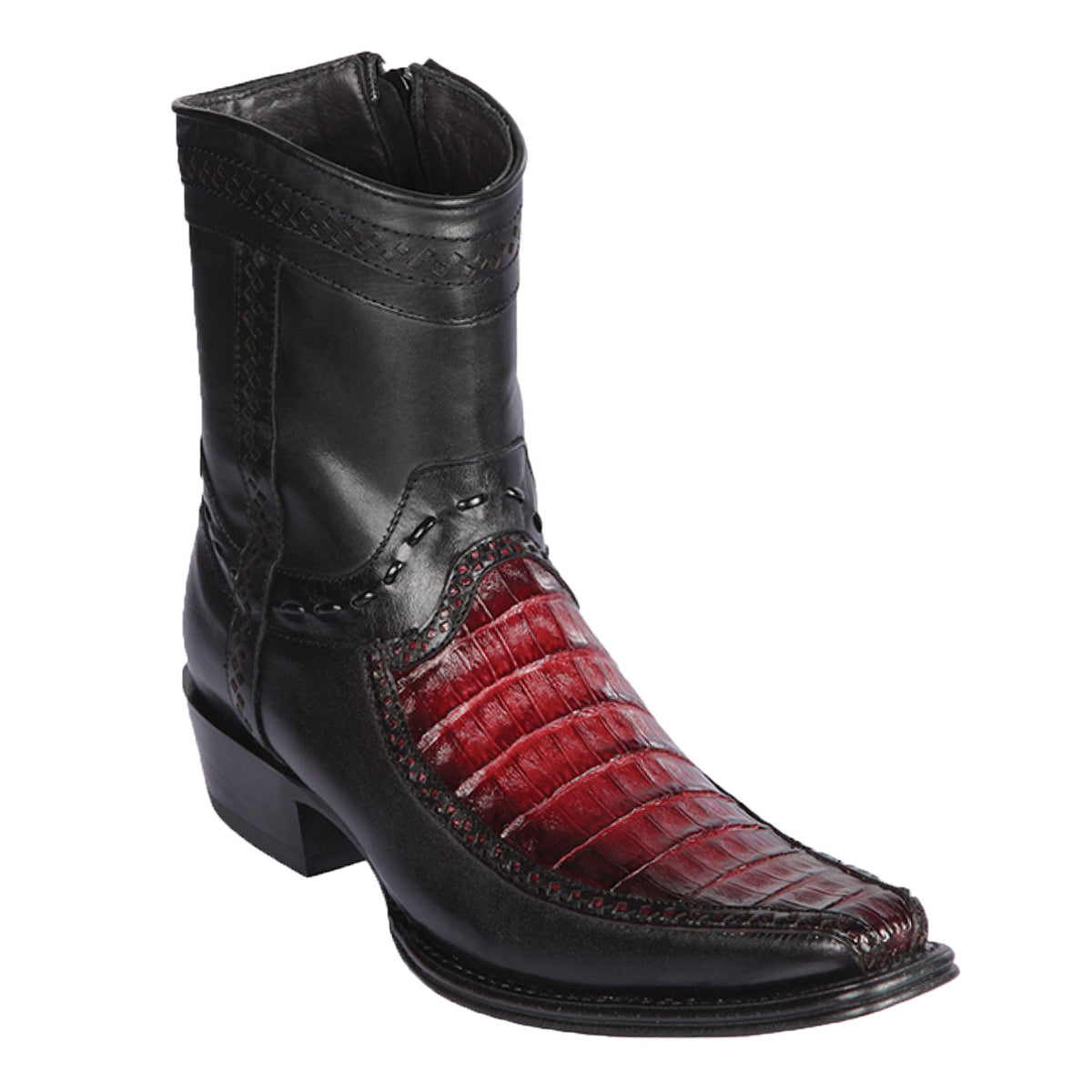 Caiman Belly & Deer Skin Short Boot LAB-76BF82