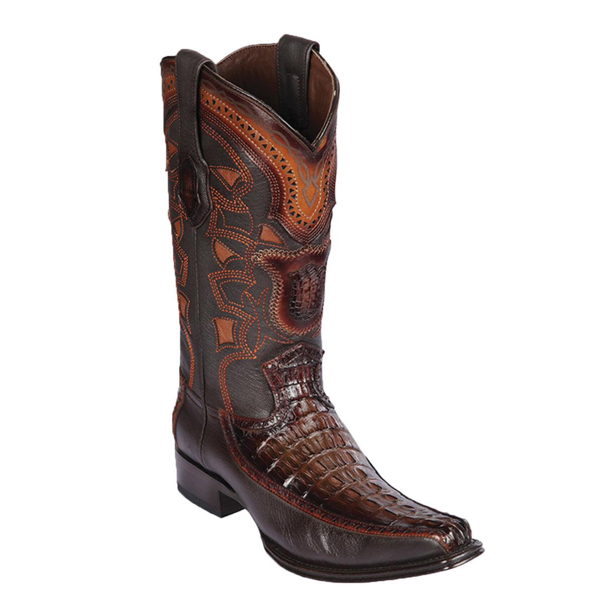 Caiman Tail & Deer Skin Boot LAB-76F01