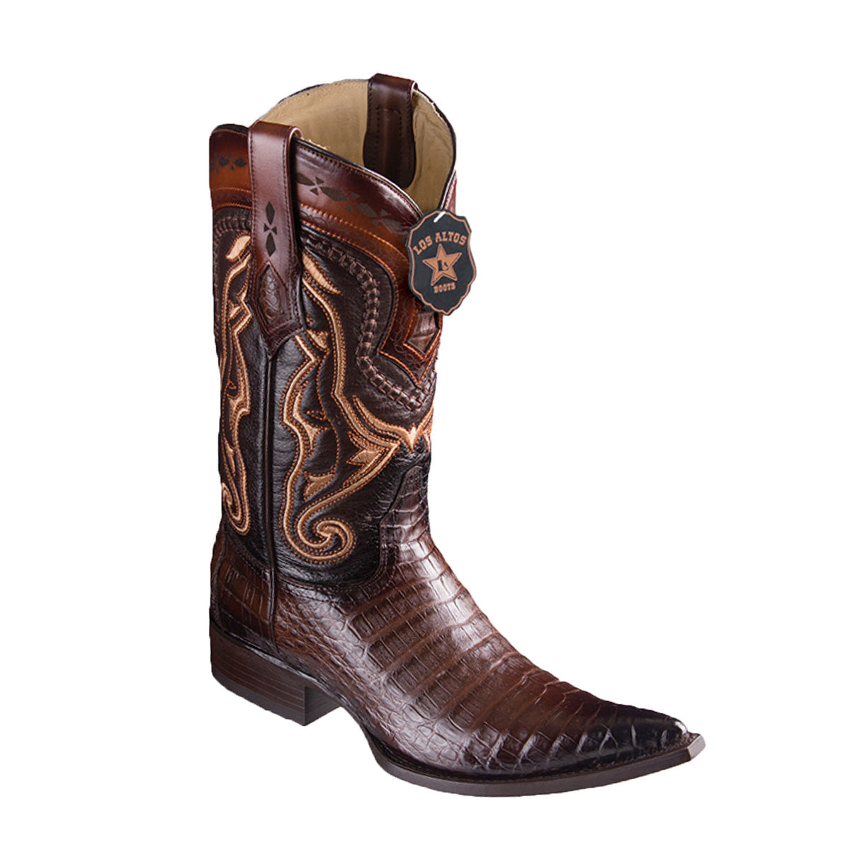 Caiman Belly Skin Boot LAB-9538