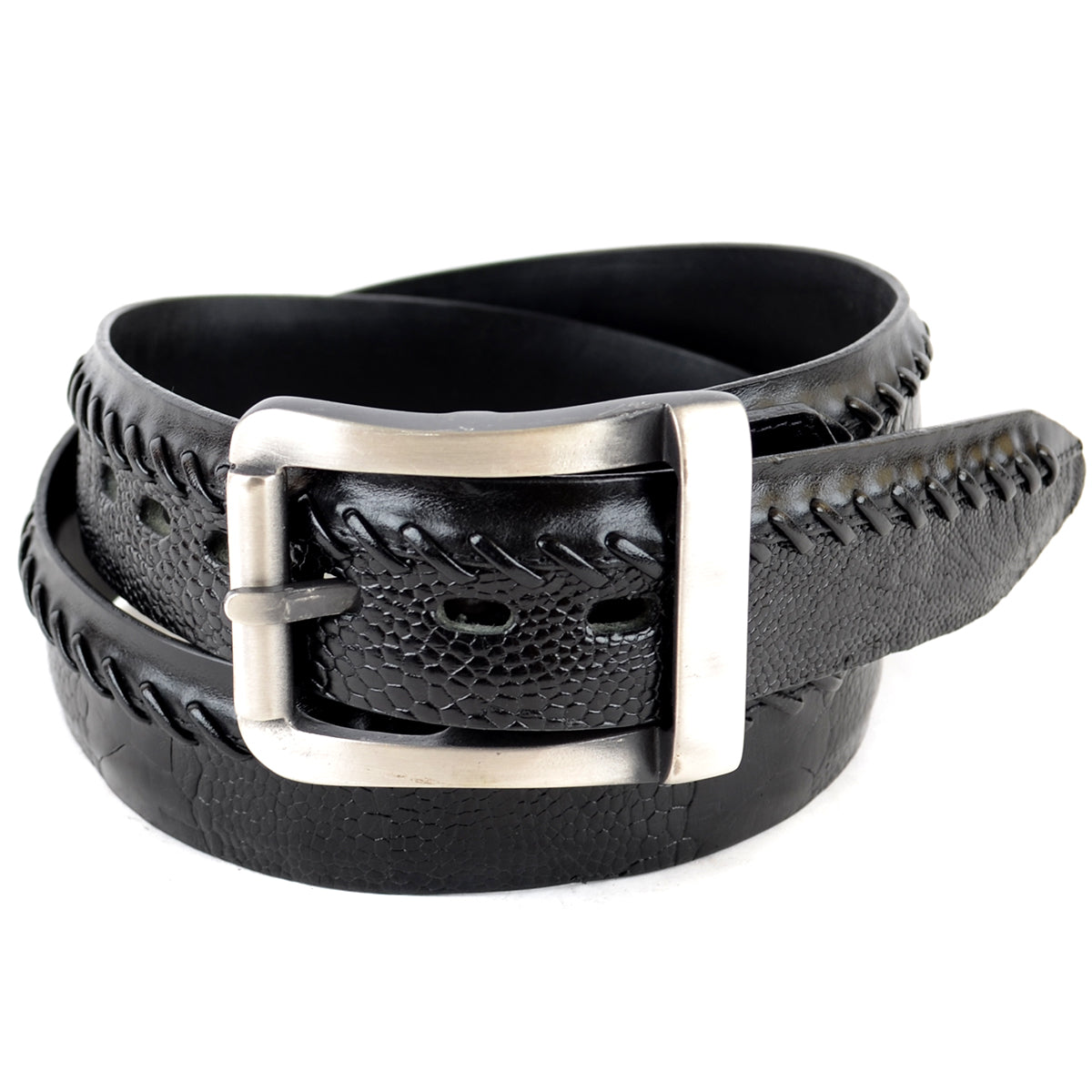 Genuine Ostrich Leg Skin Casual Belt C2305