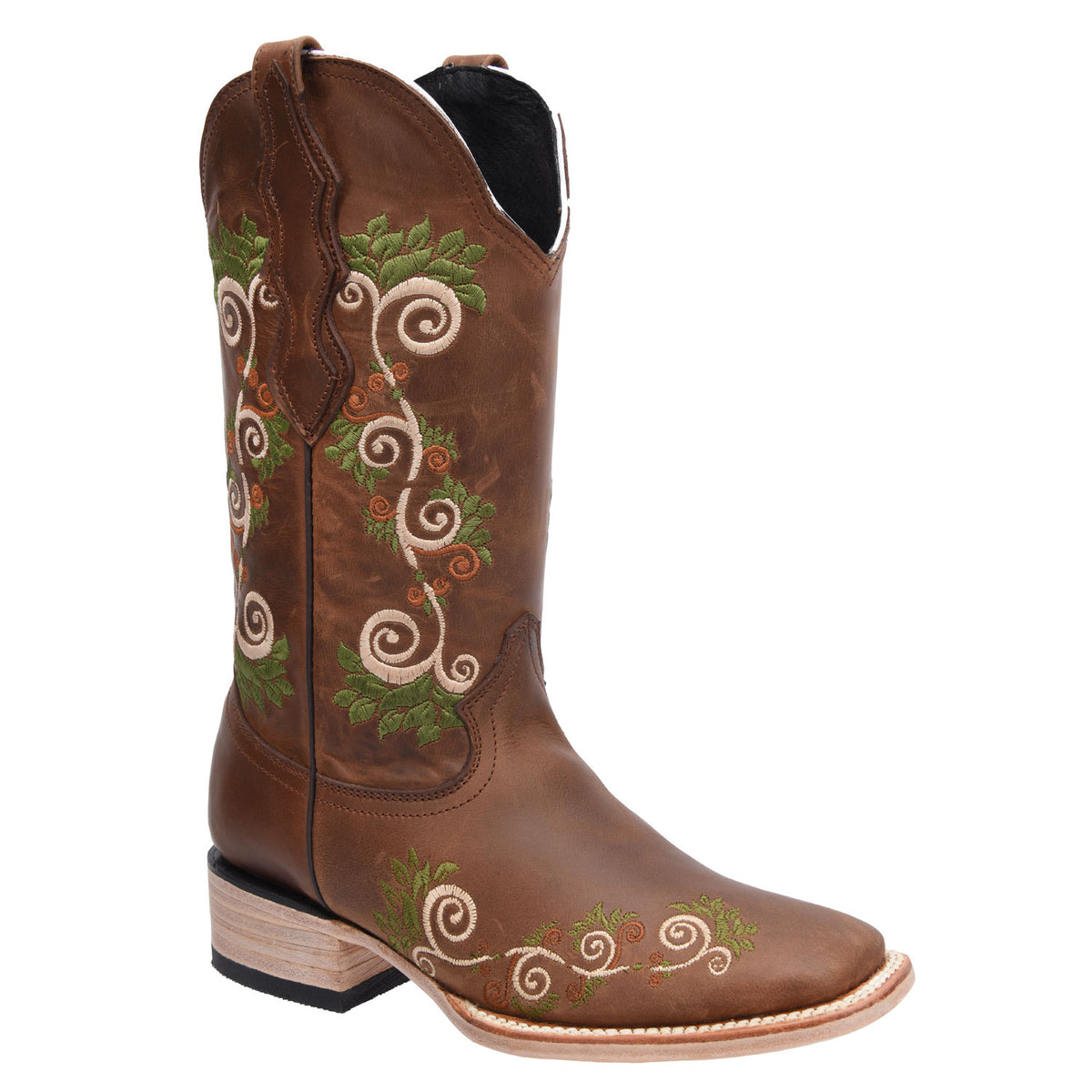 Genuine Leather Boot WD544-546