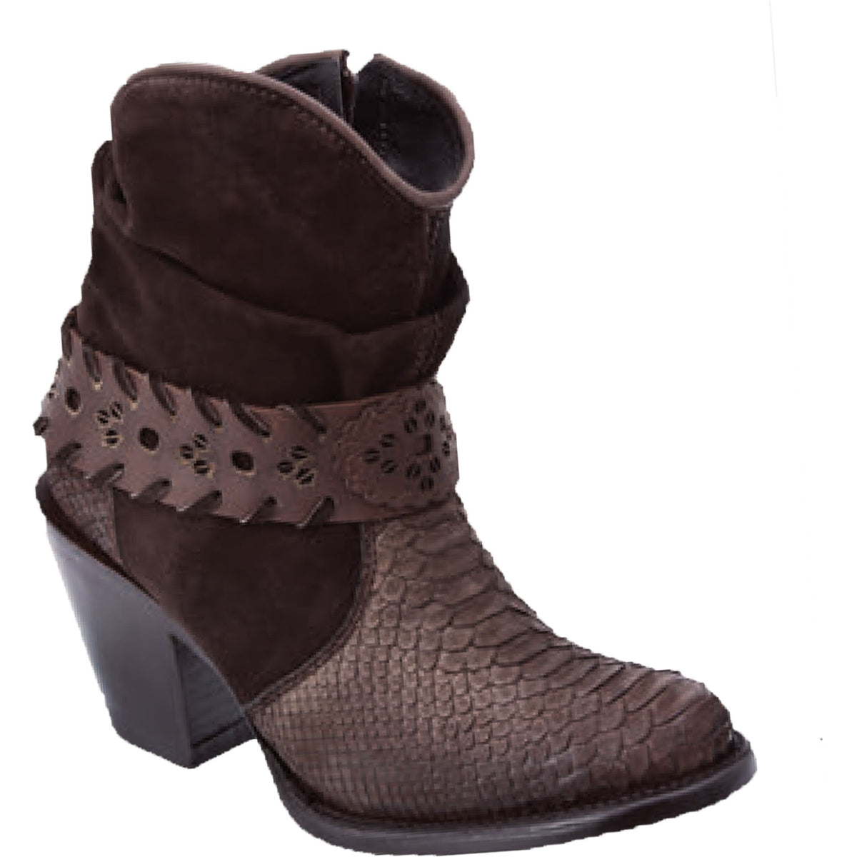 Original Python Skin Ankle Boot WD577