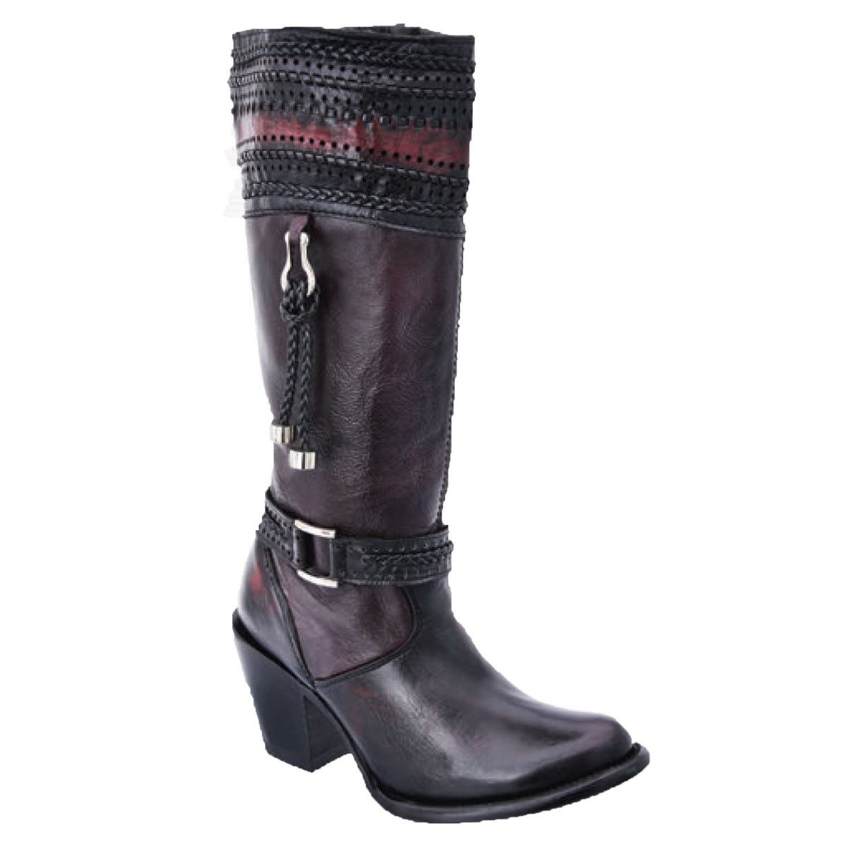 Genuine Leather Boot WD581