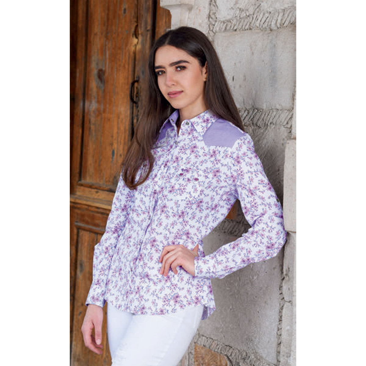 Women's Western Shirt WD587-590