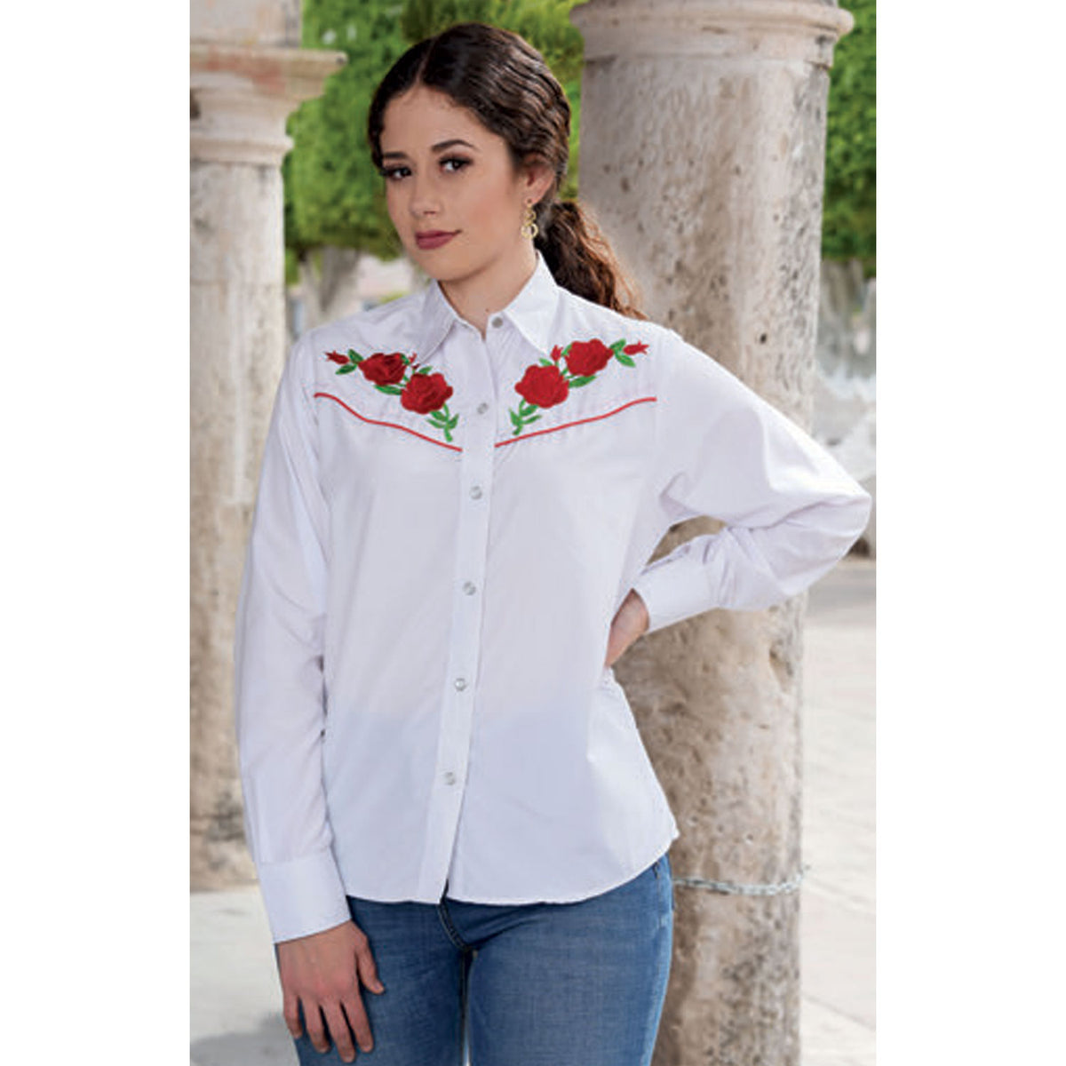 Women's Western Shirt WD591-592