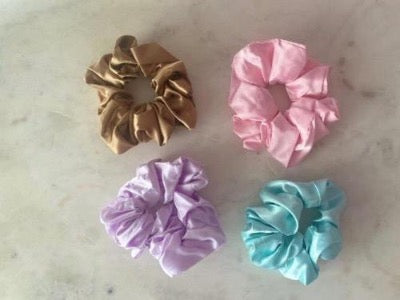 Every Girl Loves Her Scrunchies Various Styles