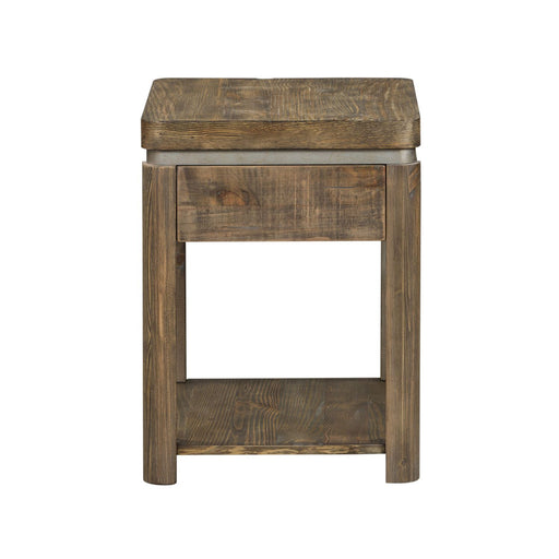 Liberty West End Chair Side Table in Gray Wash Pine 193-OT1022 image