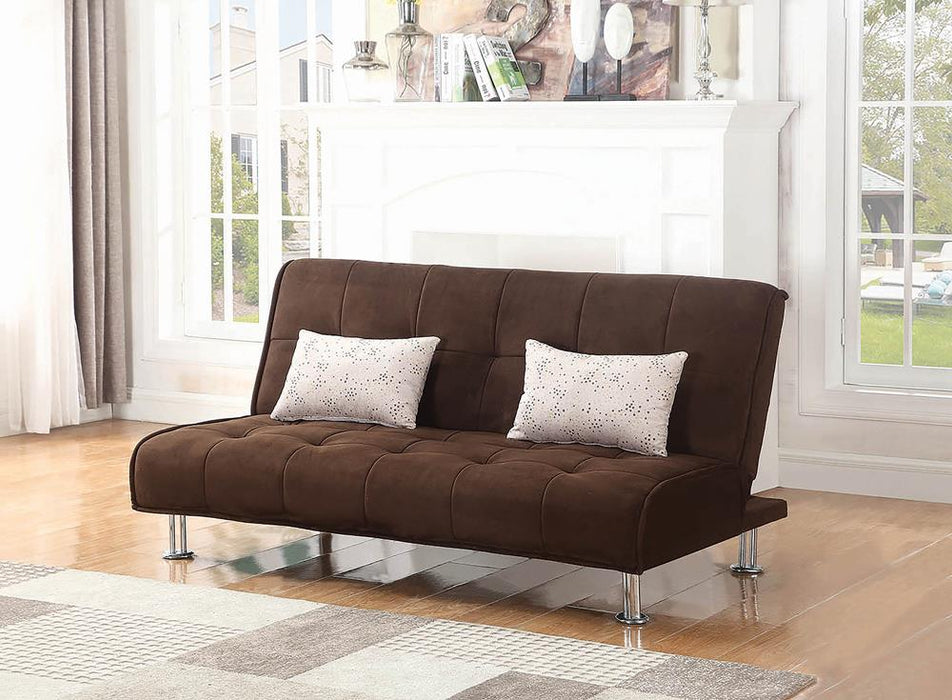 Ellwood Transitional Brown Sofa Bed image