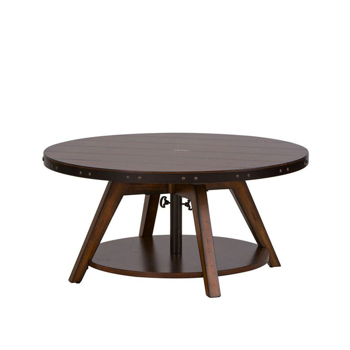 Liberty Aspen Skies Motion Cocktail Table in Russet Brown 316-OT1011 image