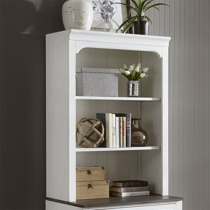 Liberty Allyson Park Bunching Lateral File Hutch in Wirebrushed White 417-HO135 image