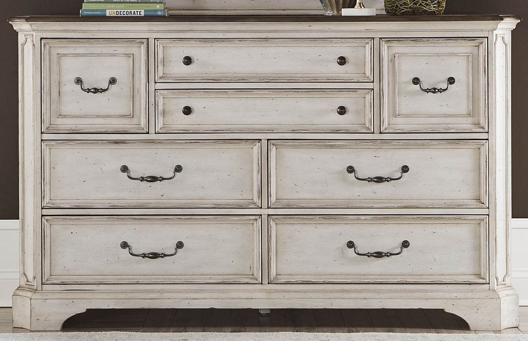 Liberty Abbey Road 8 Drawer Dresser in Porcelain White 455W-BR31 image