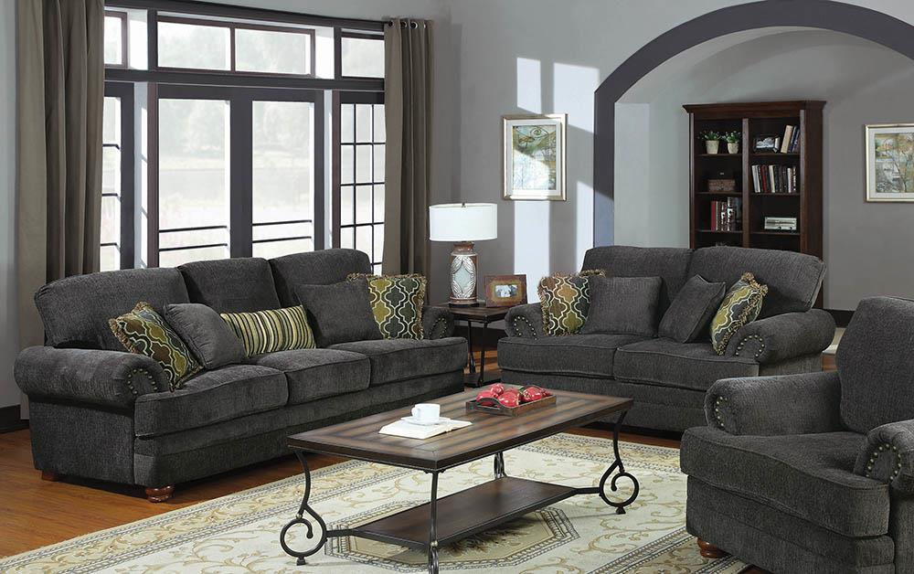 Colton Grey Two-Piece Living Room Set image