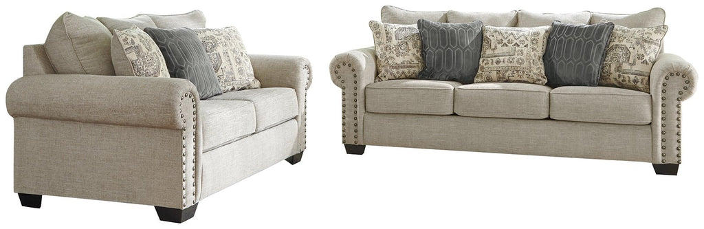 Zarina Signature Design 2 Piece Living Room Set Ndc Furniture Nj