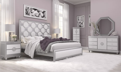 Kylie White Queen 5-Piece Bedroom Set image