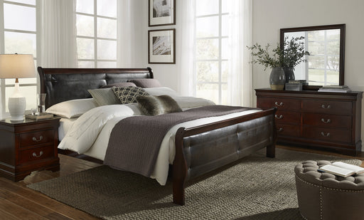 Marley Merlot King 5-Piece Bedroom Set image