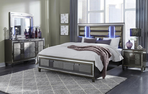 Pisa Queen 5-Piece Bedroom Set image