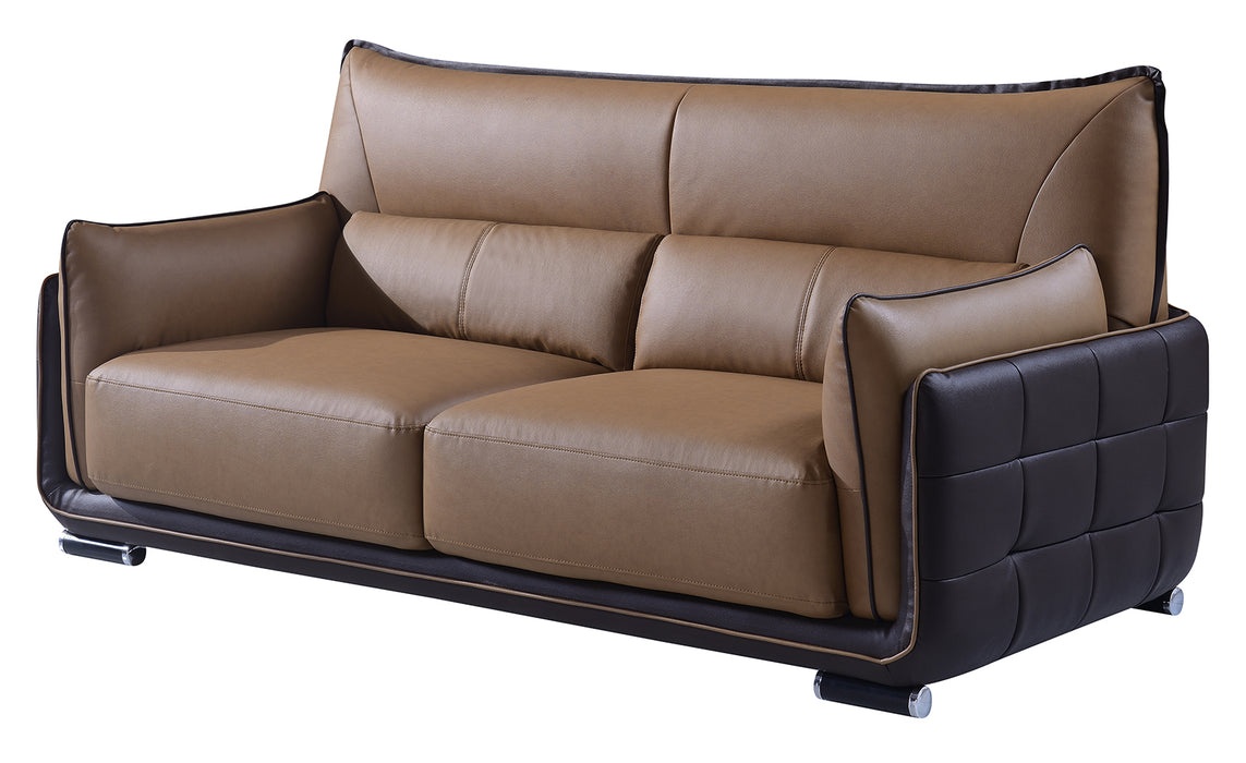 Global Furniture UFY220 Sofa in Tan/Brown image