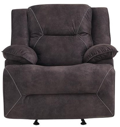 Global Furniture UM08 Glider Recliner Chair in Grey image