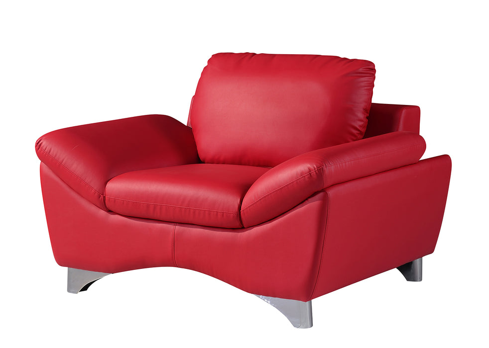 Global Furniture U7140 Chair in Red image