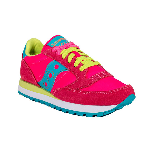 SAUCONY JAZZ ORIGINAL S1044-293 PINK/YELLOW