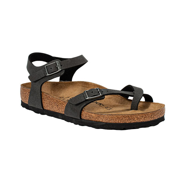 BIRKENSTOCK 0310301 TAORMINA BRUSHED BLACK