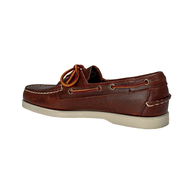 SEBAGO DOCKSIDES PORTLAND WAXED 70000G0 MOCASSINO BROWN