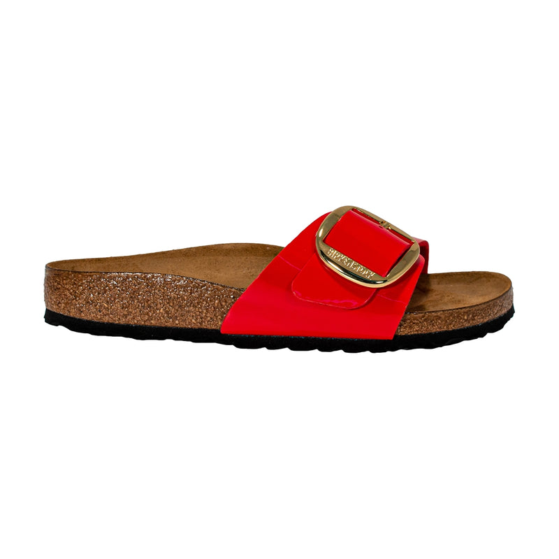 BIRKENSTOCK 1019815 MADRID BIG BUCKLE PATENT CHERRY