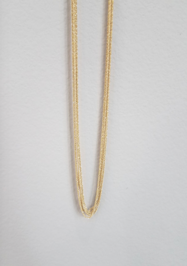 Yellow Necklace - 5-Strand