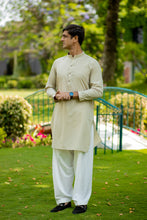 Load image into Gallery viewer, Green Geometric Kurta