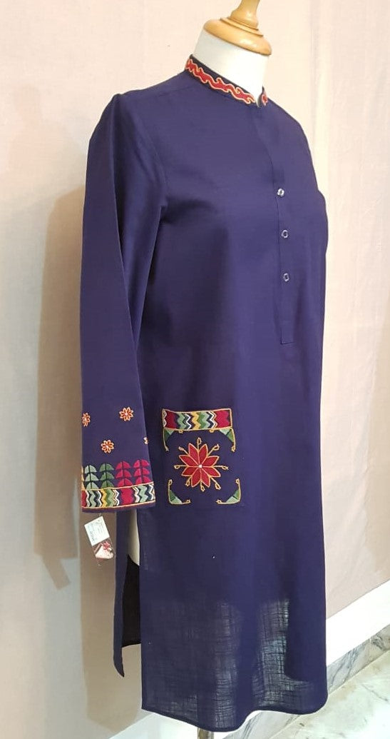 Afghan Pocket Design Shirt