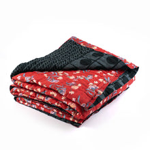 Load image into Gallery viewer, Grey and Red Dulai/Comforter/Blanket