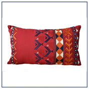 Lumber Cushion Phulkari Design