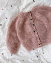Load image into Gallery viewer, Novice cardigan mini - mohair edition