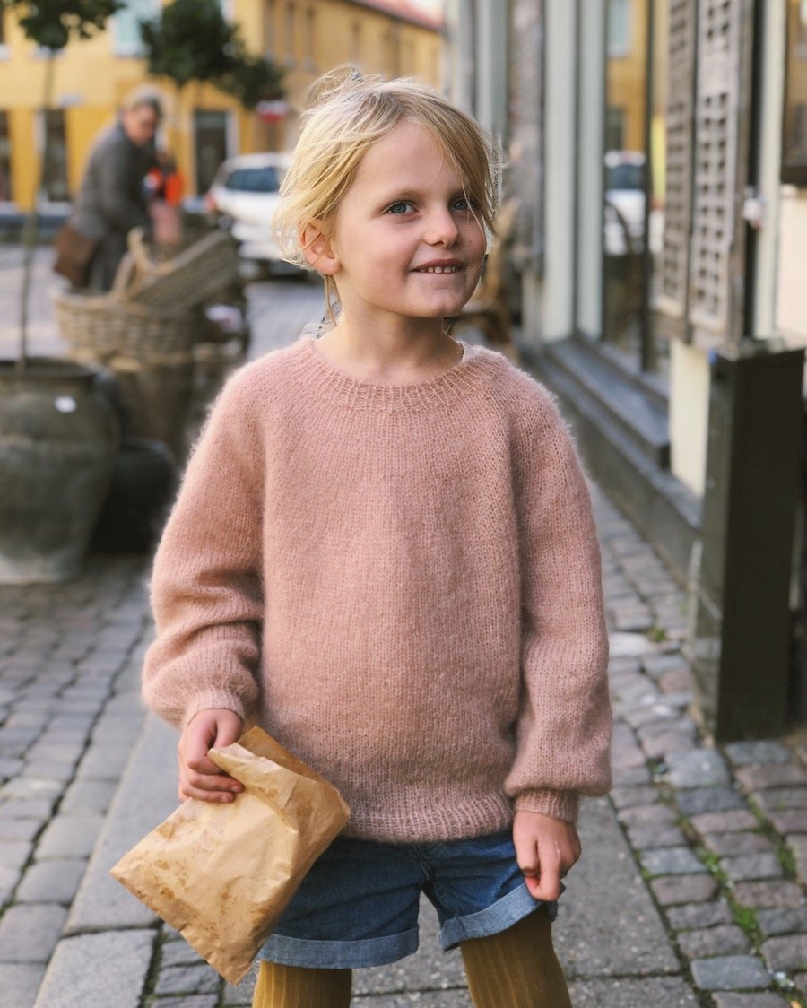 Novis sweater junior mohair edition