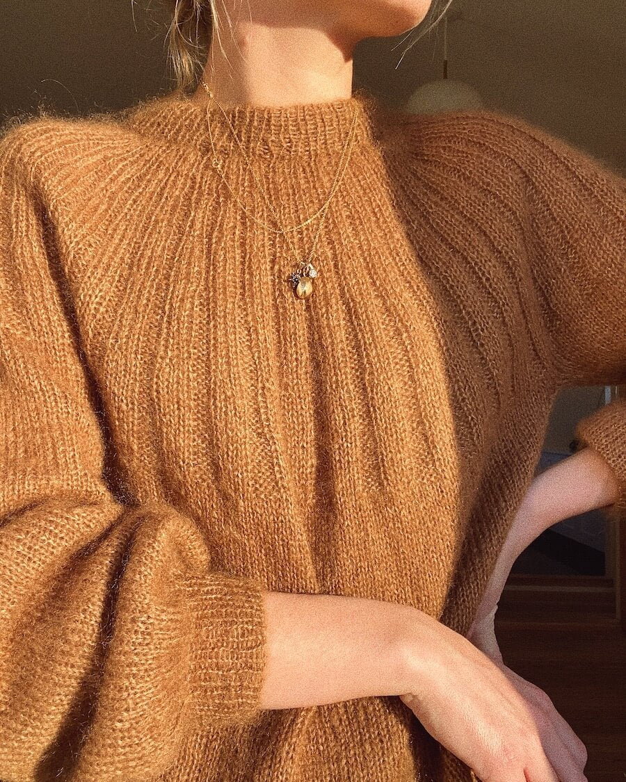 Sunday sweater mohair edition