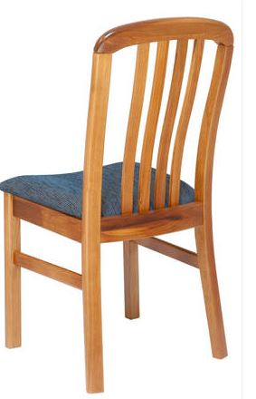 NZ Native RIMU Verso Chair, slatted back