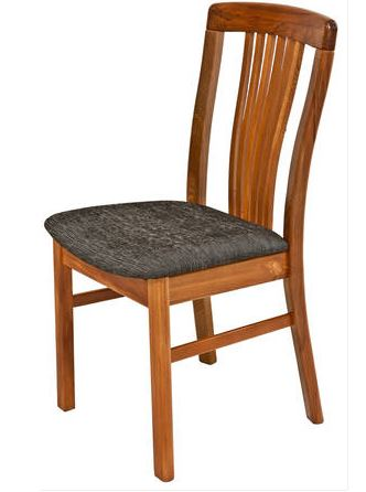 NZ Native RIMU Ridge Chair,slatted back, Verso