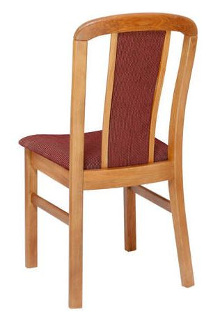 NZ Native RIMU Padded Back Chair Verso