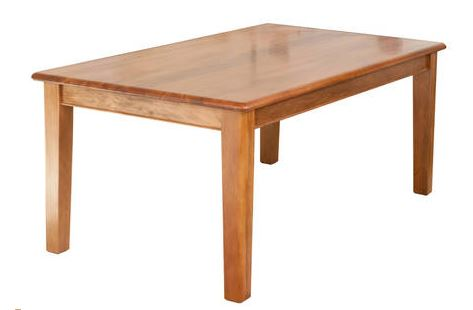NZ Native RIMU Strand Dining Table Verso 1800L