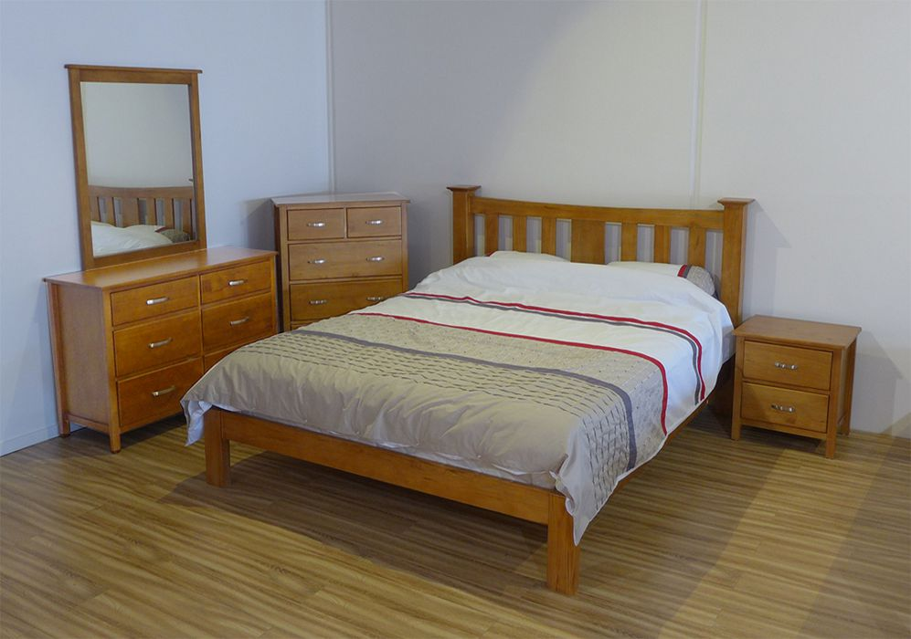 Boston Bed Frame NZ Pine King Frame