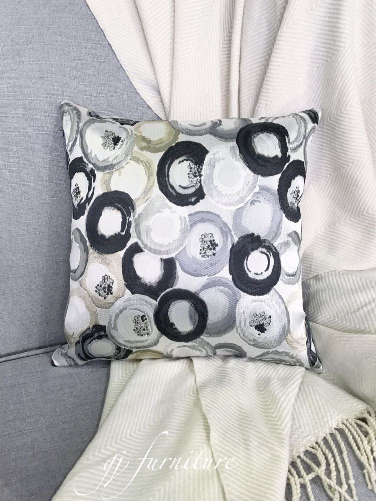 Cushion Abstract Patterned with Inner