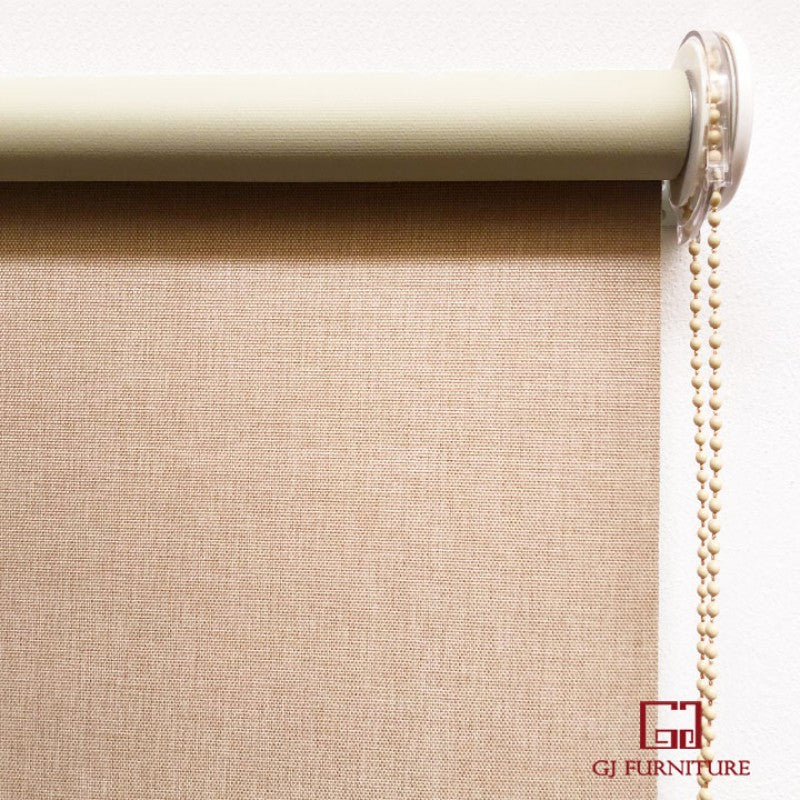 Custom-made Sunscreen Blockout Roller Blind -- JL2105B-4