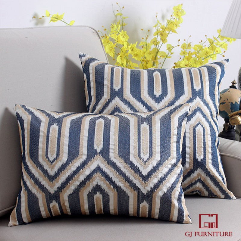 Elegant Pattered Cushion