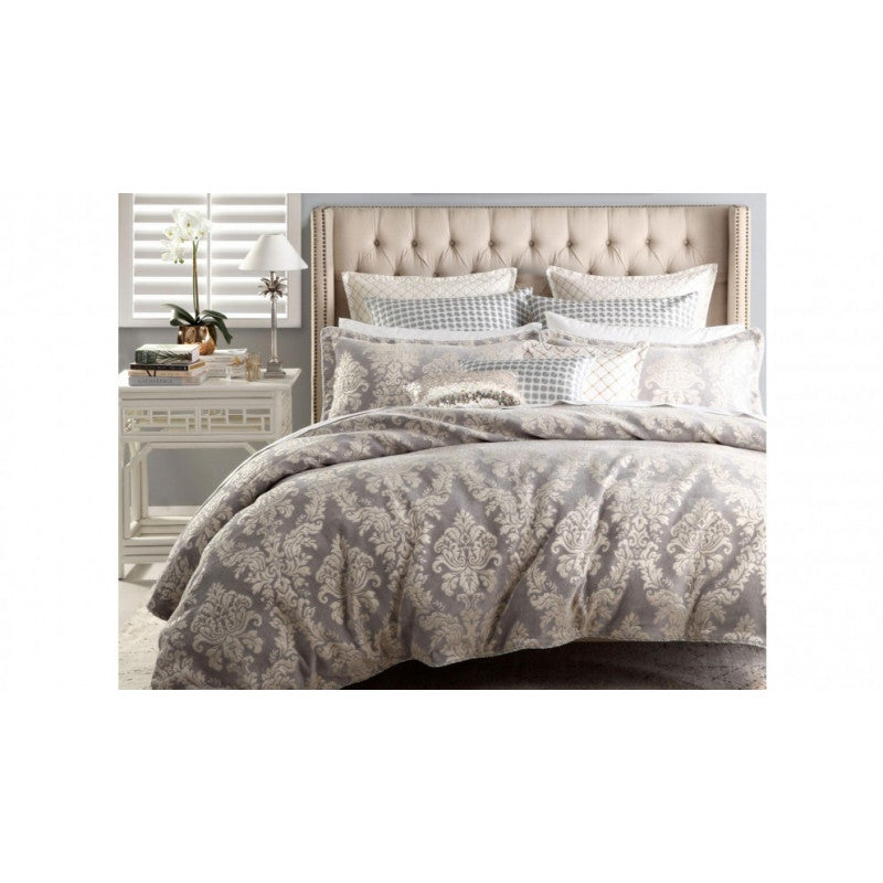 Cammeray Linen Queen Quilt Cover Set by Davinci