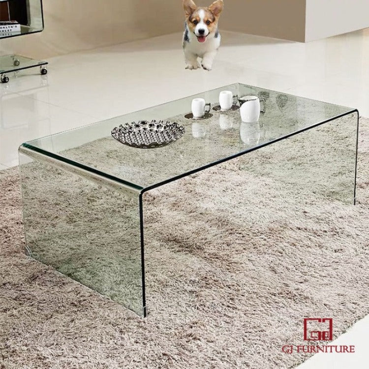 Bent Glass Coffee Table 1200mm