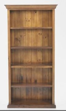 Rustic Style Bookcase