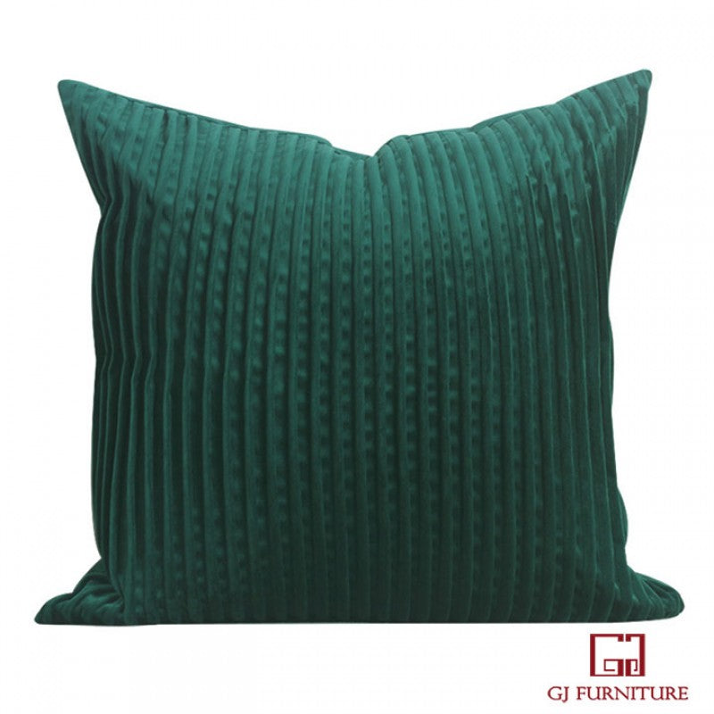 Velvet Fabric Cushion - 3 colors