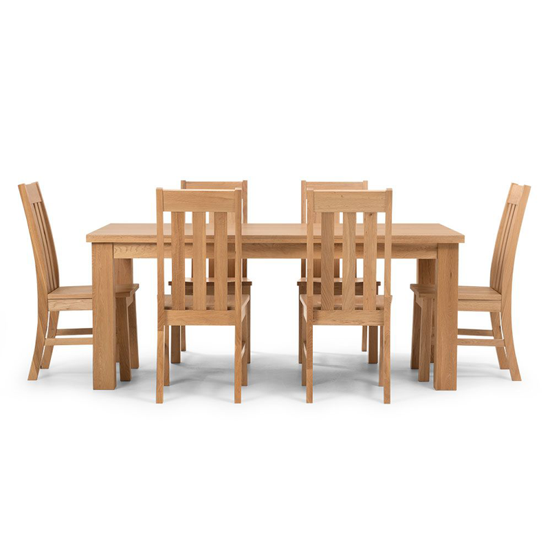 Oakland Dining Table 1500mm 7Pcs Set
